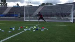Training drill with Water Bottles (Petr Chech)