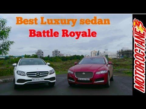 Motoroctane Youtube Video - Mercedes-Benz E Class vs Jaguar XF 2017 Comparison - ???????? ? ????? ???? ????? ?????? 2017