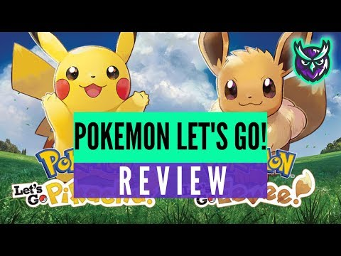 Pokemon Let's Go Pikachu & Eevee Switch Review video thumbnail