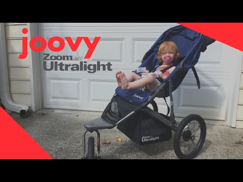 Joovy Zoom 360 Ultralight Jogging Stroller Review