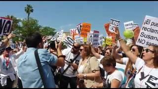Manifestación por una sanidad digna: Granada está con Huelva