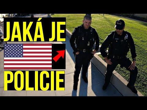 Zkušenosti s americkou policií