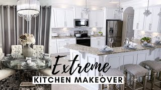 DIY KITCHEN MAKEOVER On A Budget | Before + After Transformation