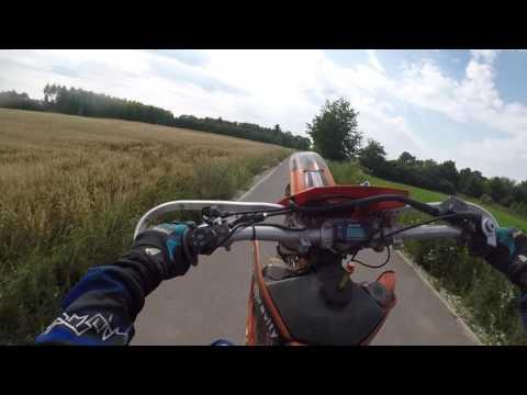 KTM SC 620 LC4 Jazda na kole | Gościnnie Góral MotoVlog