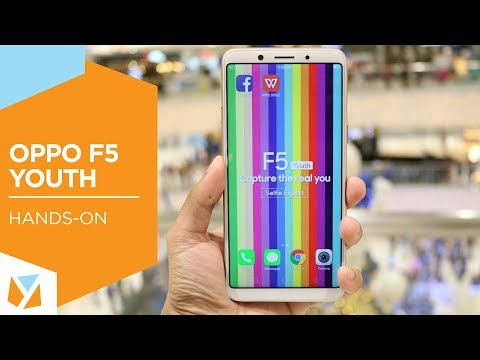 OPPO F5 Youth Hands-on