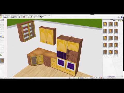 3D CAD Innenarchitektur Software von Plan7Architekt