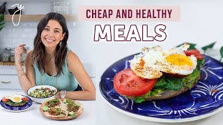3 EASY & HEALTHY RECIPES | Budget Friendly Meals