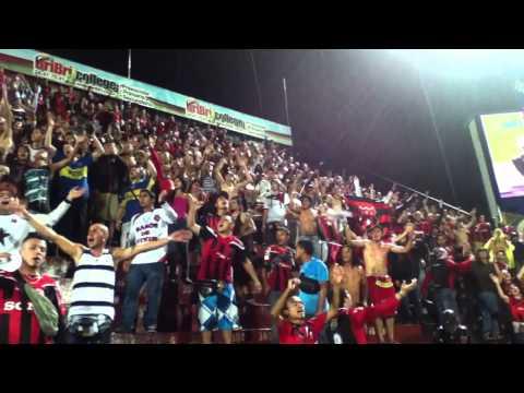 """Liga Deportiva Alajuelense 3 - 1 Pérez Zeledón - Con la Gloriosa #12"" Barra: La 12 • Club: Alajuelense"