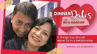 DINNER DATES!❤️❤️ with Bo and Marowe Sanchez
