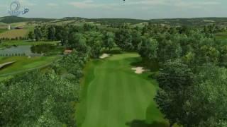 preview picture of video 'Diamond Country Club - 18-Loch Golfplatz virtueller Überflug'