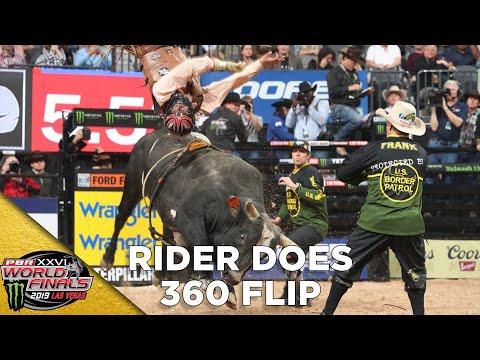 WORLD FINALS: Daniel Tinsman Does FULL 360 Flip in Round 1 | 2019