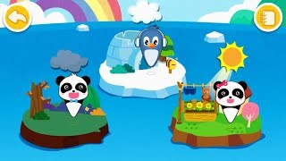 Baby Panda Learns Weather | How to Make an Igloo | Magical Weather | BabyBus Game