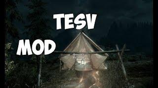 TESV MOD-Палатка и холод