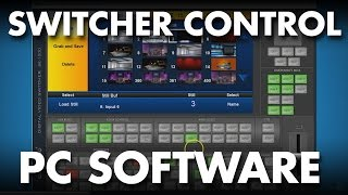 Datavideo SE-1200MU Switcher Tips and Tricks: Control Using a PC Computer