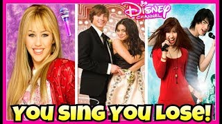 Try Not To Sing Disney Channel Movies Challenge | Descendants 2 You Sing You Lose 2017