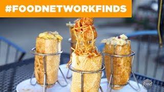 Pasta-Stuffed Sandwiches at Torpasta: Devine Pastabilities   Food Network