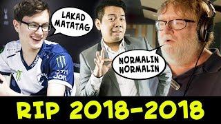 RIP Lakad Matatag chat wheel 2018-2018 — TI8 Compendium is over