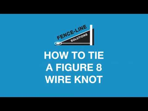 How to tie a Figure 8 Wire Knot