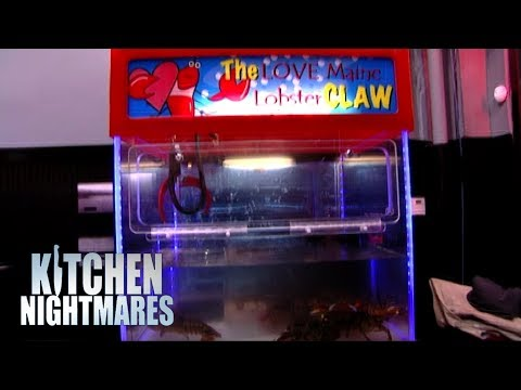 Ridiculous Restaurant Makeover Includes a LOBSTER CLAW GAME! | Kitchen Nightmares