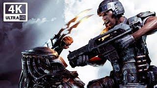 ALIENS VS PREDATOR All Cutscenes (Marines Edition) Game Movie 4k 60FPS