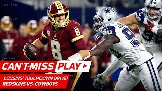 Kirk Cousins Makes CRAZY Plays on TD Drive Before the Half! | Can't-Miss Play | NFL Wk 13 Highlights