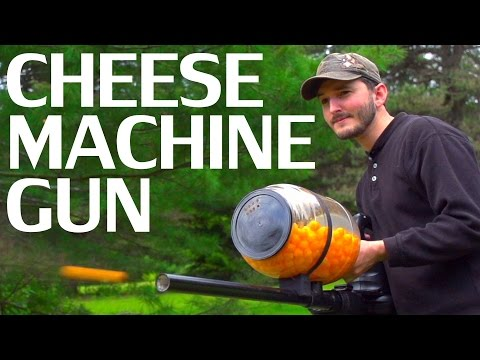 Defend Your Castle with a Cheese Ball Machine Gun