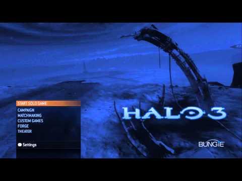 Halo 3 Main Menu Music - HD 1080p