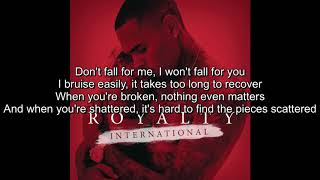 Shattered w/Lyrics - Chris Brown