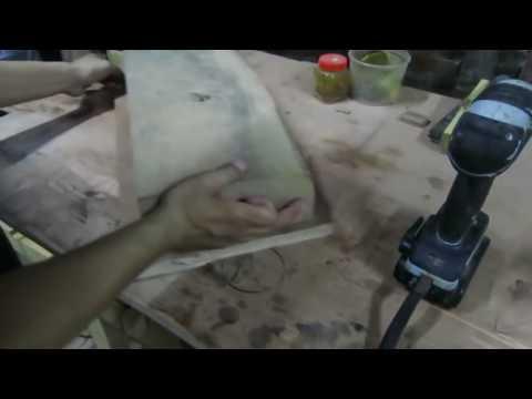 Bào thẩm gỗ mặt lớn sử dụng máy bào cuốn