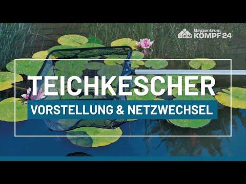 OASE Profi Teichkescher | Vorstellung und Netzwechsel