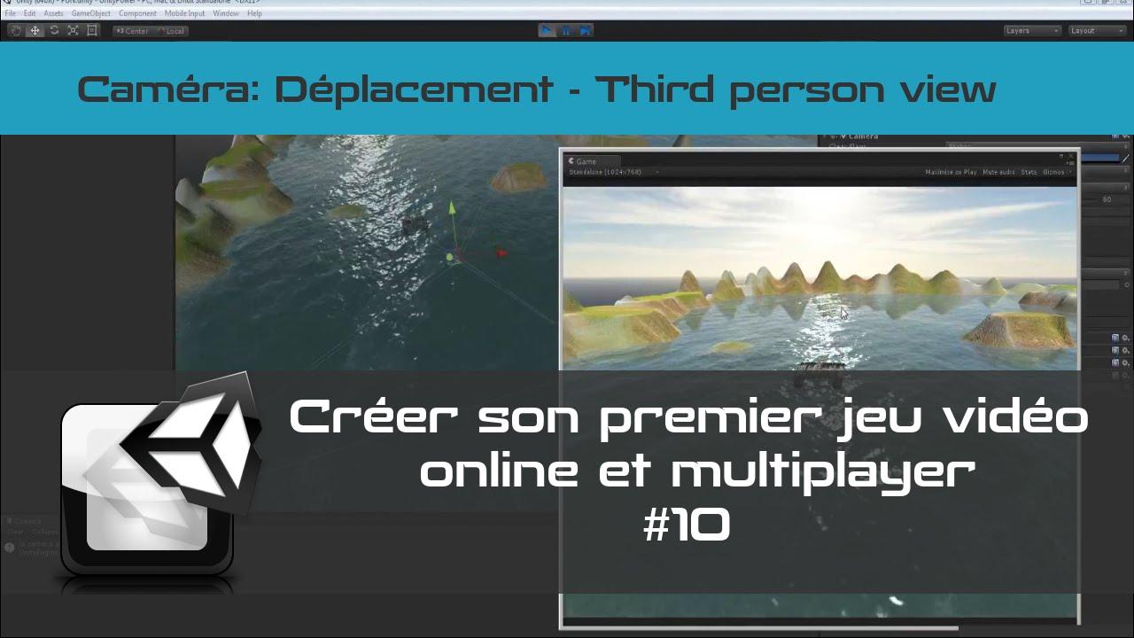 [TUTO Unity 3D FR] Unity 5 - Créer un jeu vidéo online et multiplayer #10- Camera