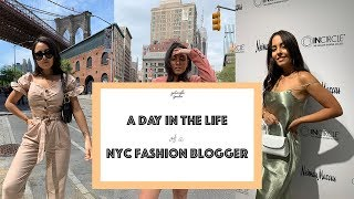 A Day In The Life Of A NYC Fashion Blogger