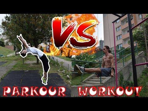 PARKOUR vs WORKOUT - Ivo vs Maťo - Flying Emotions