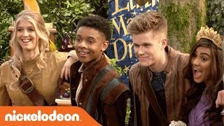 Go BTS on Nick's BRAND-NEW Show 'Knight Squad' �️   Premieres Feb. 24th!   Nick