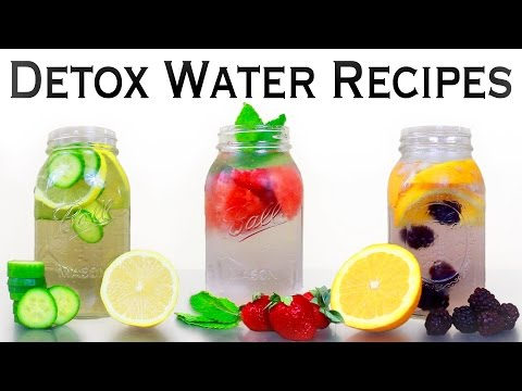 3 Detox Water Recipes for Weight Loss, Energy & Anti-Aging