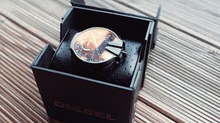 Hybrid Smartwatch mit außergewöhnlichem Design - Diesel On Mega Chief Unboxing und erster Eindruck