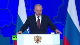 Putin: If US deploys mid-range missiles in Europe, Russia will be forced to respond