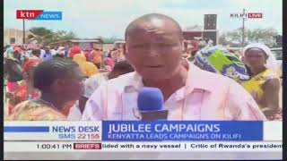 Jubilee campaigns in Kilifi, Mombasa area perceived to be NASA's stronghold