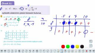Eğitim Vadisi 11.Sınıf Matematik 11.Föy Denklem ve Eşitsizlik Sistemleri 4 Konu Anlatım Videoları