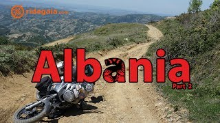 Ep 42 - Albania (part 2) - Around Europe on a Motorcycle