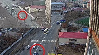 Astakada Владивосток ДТП Сбил пешехода ул. Луговая 6 декабря 2018