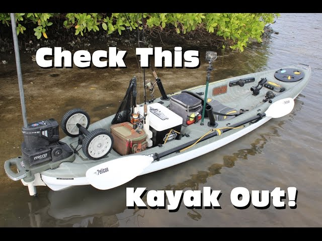 Ultimate Inshore Fishing Kayak Rigging: Pelican Strike 120x Angler