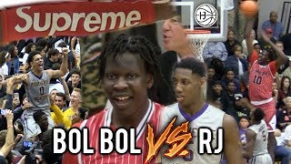 BEST GAME OF 2018! BOL BOL VS #1 RJ Barrett! CRAZY BUZZER-BEATER In CHAMPIONSHIP ft. SUPREME SLEEVE!