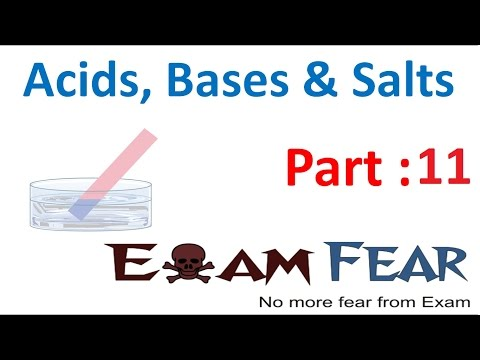Chemistry Acid Base Salts Part 11 (Questions) Class 7 VII - YouTube