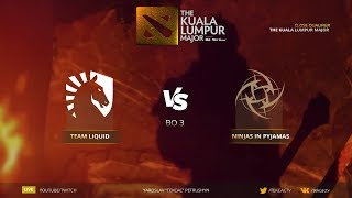 🤠 [RU] Team Liquid vs Ninjas in Pyjamas | Bo3 | The Kuala Lumpur Major