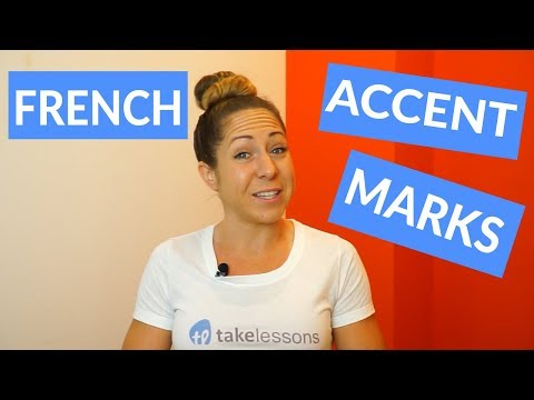 A video I recorded for Takelessons where I talk about the different accents in french