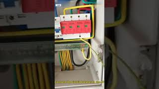 HYKL surge protective device(SPD OR surge protection device) installation