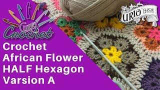African Flower Crochet ฟรวดโอออนไลน ดทวออนไลน คลป