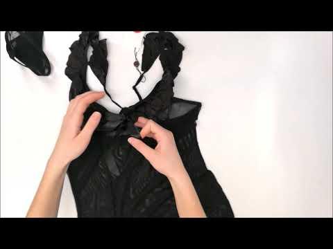 Košilka Electra chemise XXL - Obsessive