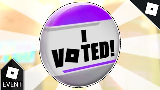 [EVENT] How to get the 8TH ANNUAL BLOXYS VOTER PIN in 8TH ANNUAL BLOXY AWARDS EVENT GAME   Roblox